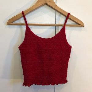 NWT Hollister cropped tank. Size XS